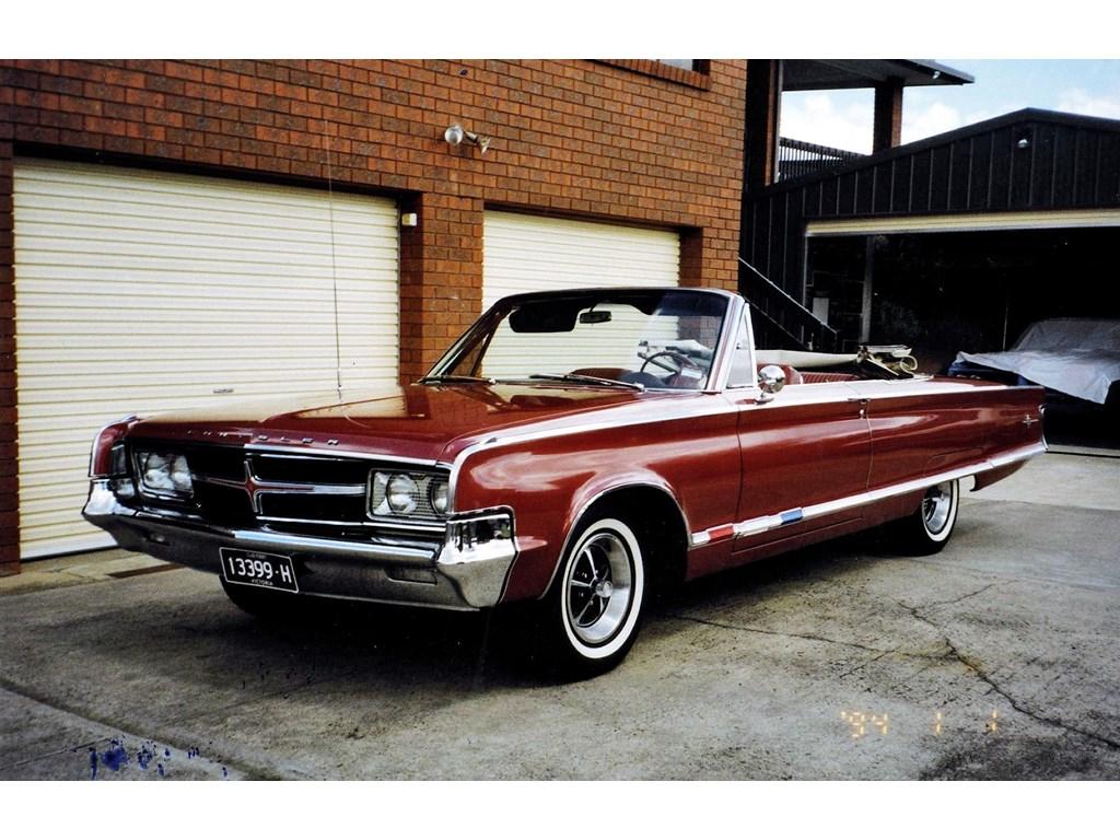 1965 chrysler 300 convertible for sale 32 500