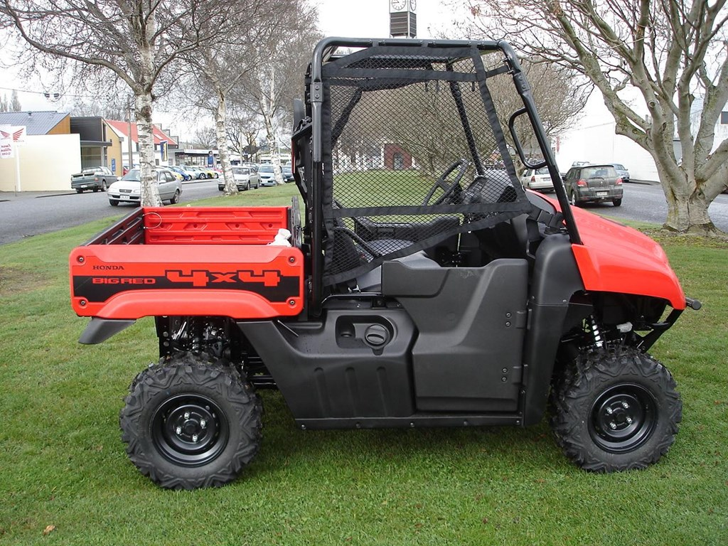 2014 HONDA BIG RED BIG RED MUV700 SIDE BY SIDE for sale $21,844