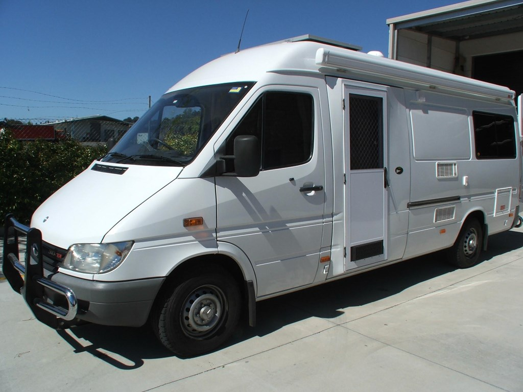 mercedes benz motorhome price