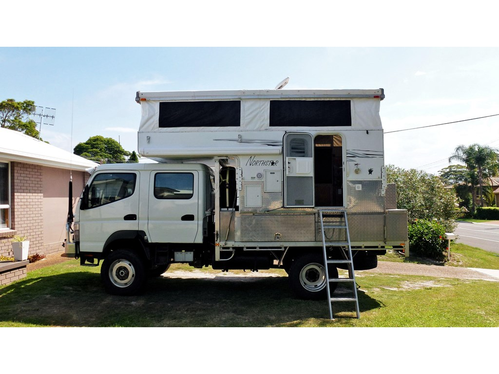 Fuso Fg 4x4 Camper In Usa | Autos Post