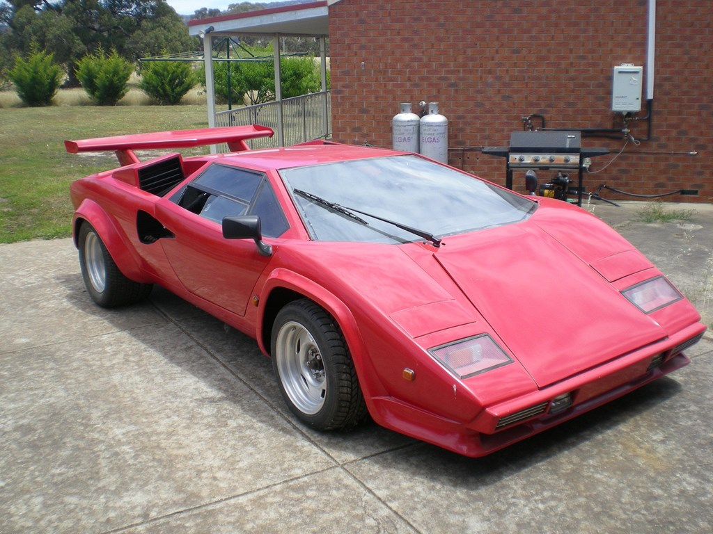 used lamborghini countach replica for sale. Black Bedroom Furniture Sets. Home Design Ideas