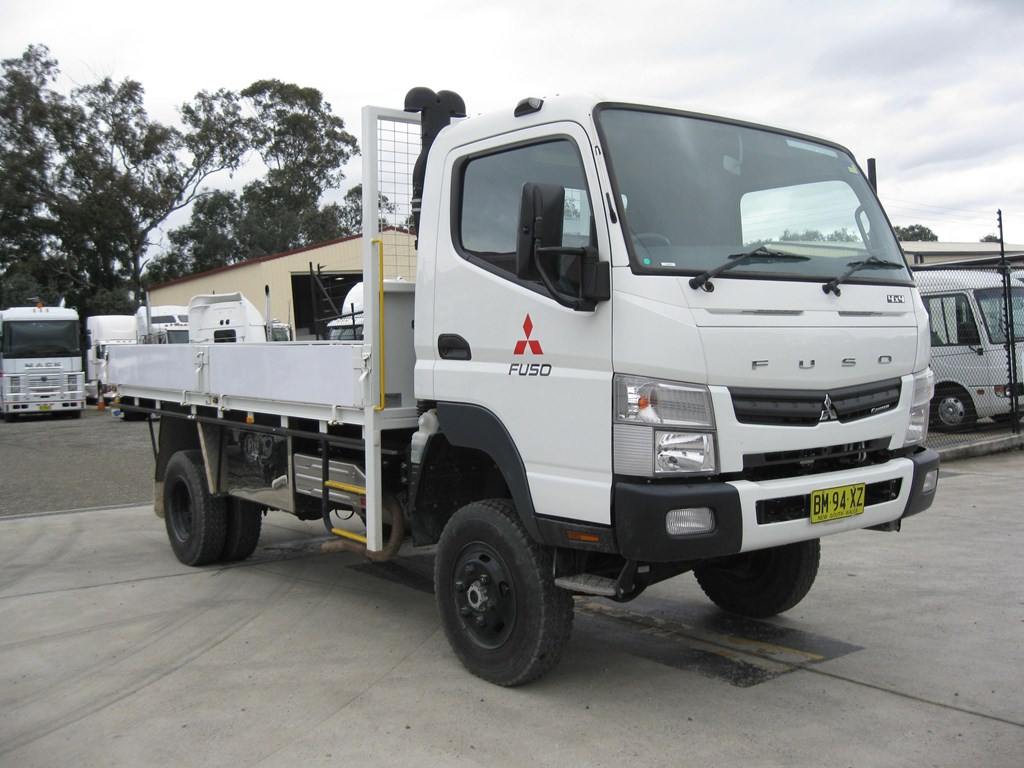 Fuso 4x4 Trucks For Sale