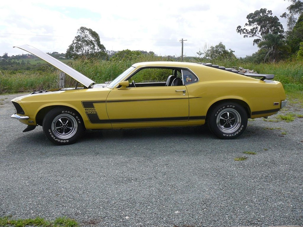 1969 boss mustang 302 and 429 for autos weblog. Black Bedroom Furniture Sets. Home Design Ideas