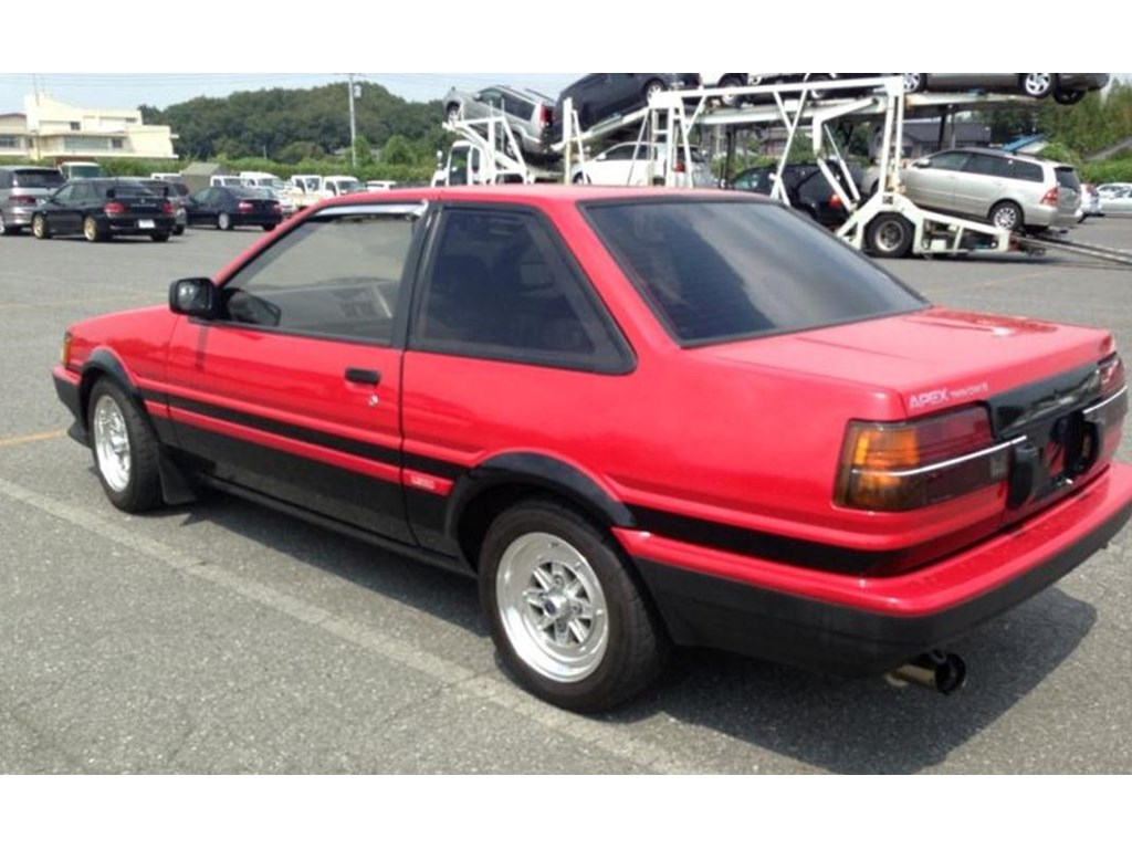 1986 toyota corolla ae86 for sale. Black Bedroom Furniture Sets. Home Design Ideas
