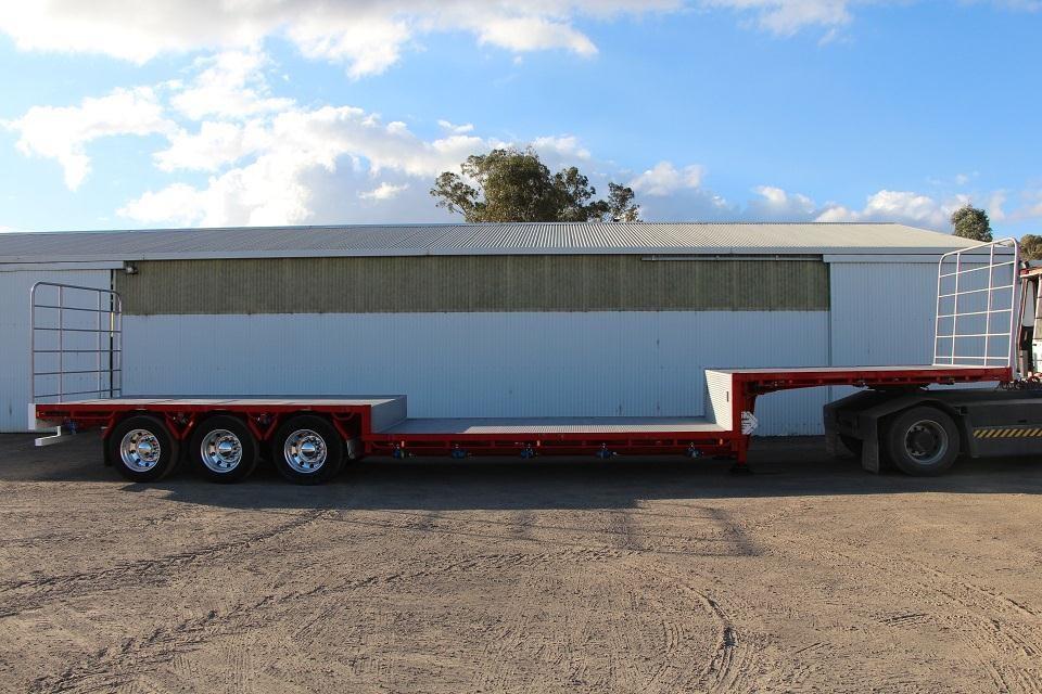 Double Drop Trailer : Double drop van trailers for sale autos post