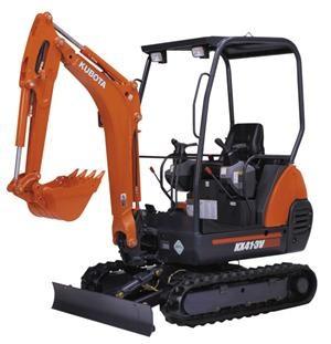 new kubota kx41 3v excavators for sale. Black Bedroom Furniture Sets. Home Design Ideas