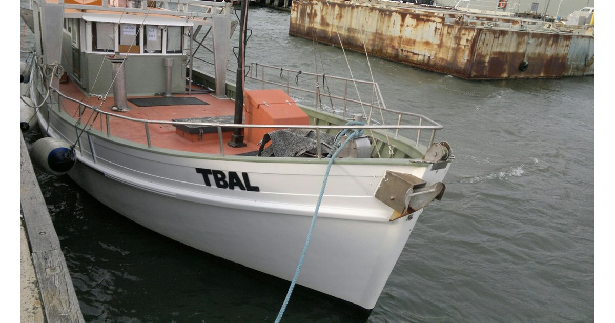 cayzer 46ft crayboat 3b survey for sale