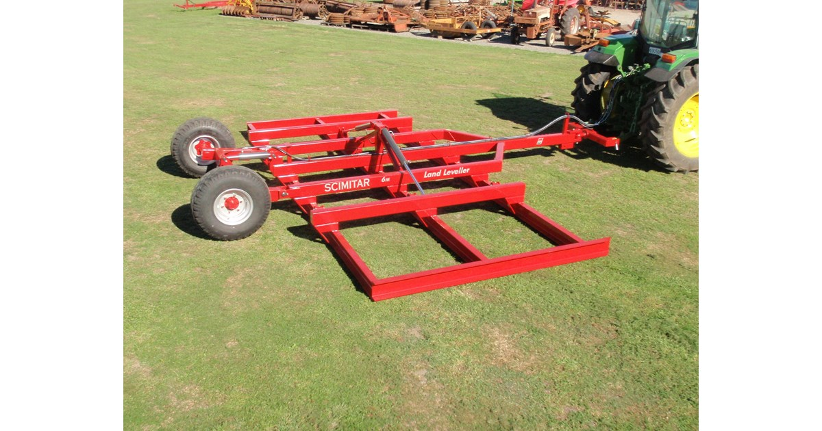Scimitar landleveller for sale