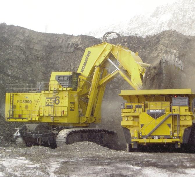 Volvo Skid Steer >> New KOMATSU PC8000 Excavators for sale