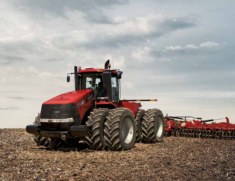 New Case Tractors : New case ih steiger ep tractors for sale