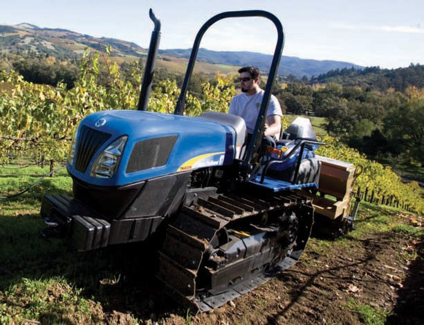New NEW HOLLAND TK4060 ROPS Tractors for sale