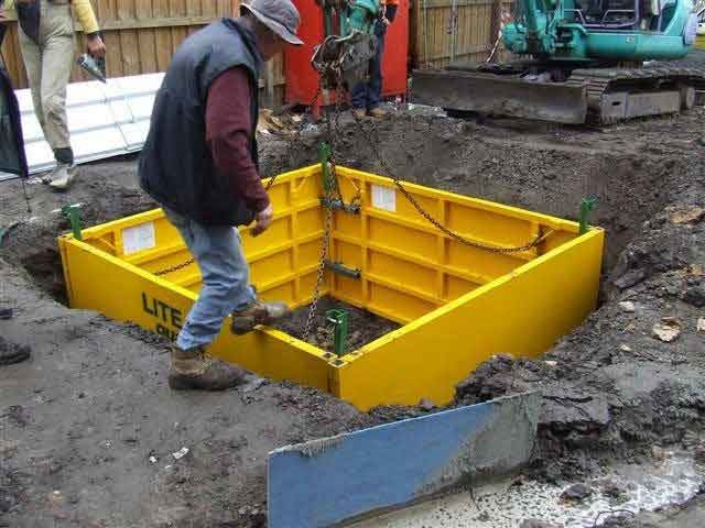 New lite guard manhole box m trenchers for sale