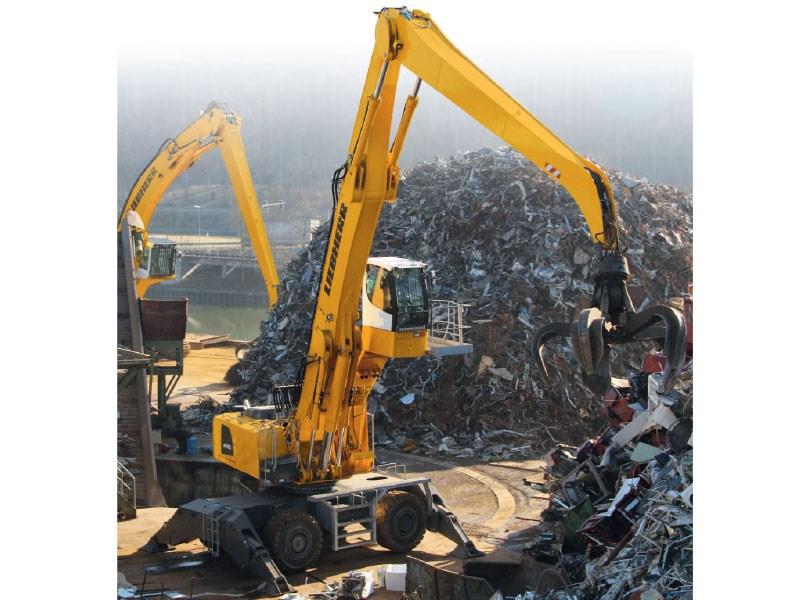 New Liebherr Lh80 M Material Handler Excavators For Sale