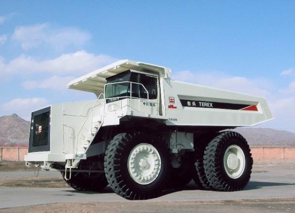 terex tr100 rigid haul truck trucks off road trucks. Black Bedroom Furniture Sets. Home Design Ideas