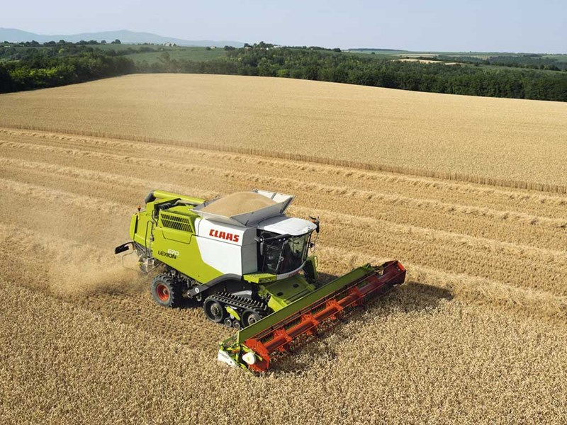 New Claas Lexion 760t Harvesting For Sale