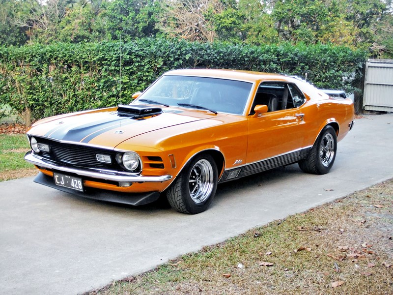 1970 FORD MUSTANG MACH 1 428 SUPER COBRA JET for sale $139,000