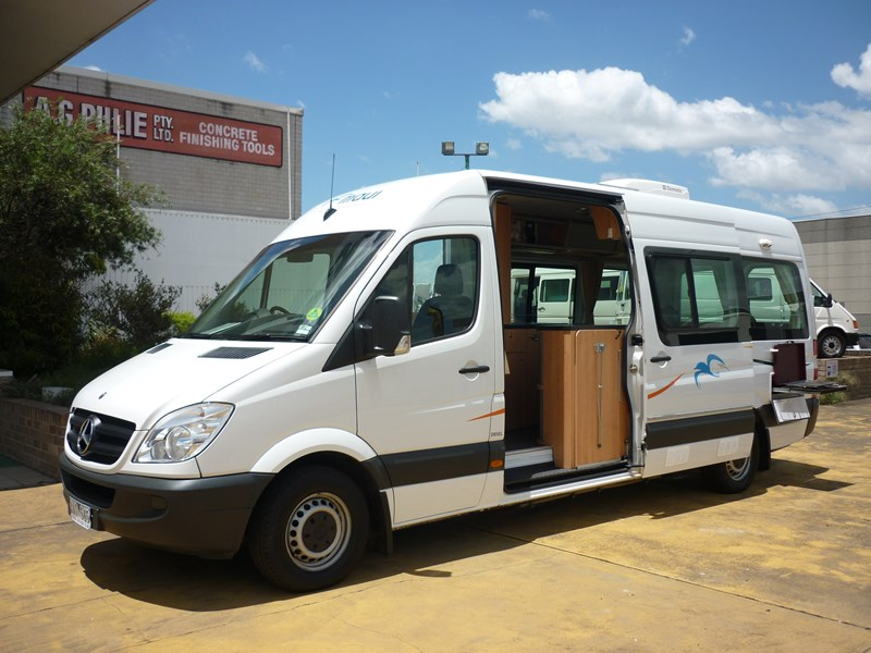 Used mercedes motorhomes australia for Mercedes benz rv used