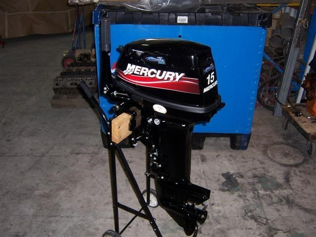 2016 Mercury 15 Hp Outboard Motor For Sale