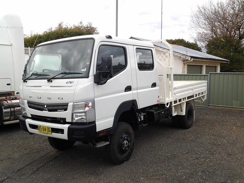2012 fuso canter 4x4 for sale $ 75000 used 2012 fuso canter crew 4x4