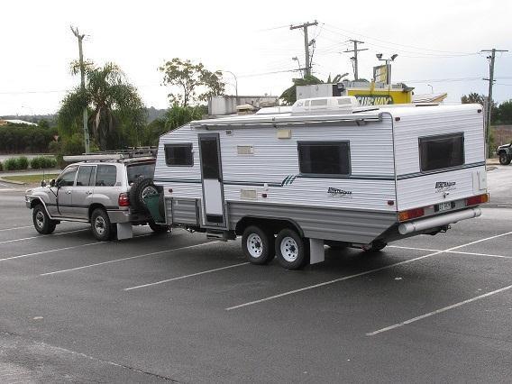 Creative 2003 BUSHTRACKER OFF ROAD CARAVAN For Sale  Camper Trailer Australia