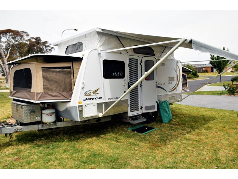 Fantastic Details About Jayco Expanda Triple Bunk Van 2008