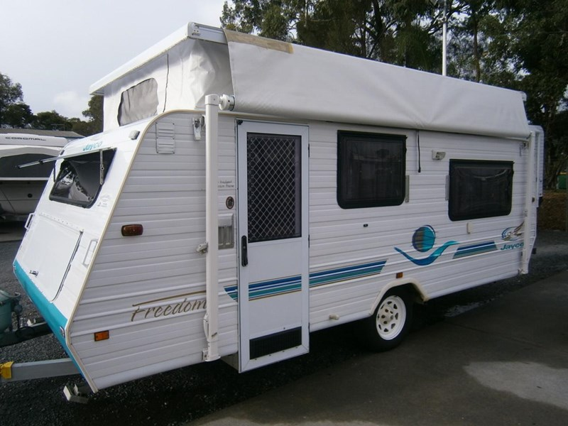 Cool New NEW AGE ROCKIN WALLABY RANGE Caravans For Sale