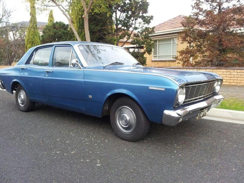 1968 Ford xt falcon gt - cruise blue