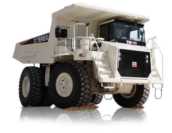terex tr45 rigid haul truck trucks off road trucks. Black Bedroom Furniture Sets. Home Design Ideas