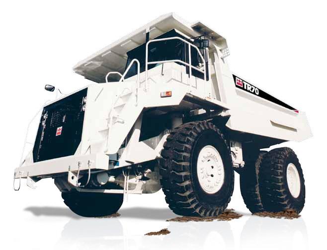 terex tr70 rigid haul truck trucks off road trucks. Black Bedroom Furniture Sets. Home Design Ideas