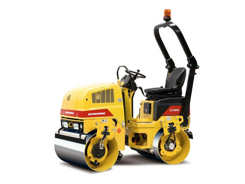 Dynapac Cc1000 Rollers Tandem Vibrating Specification