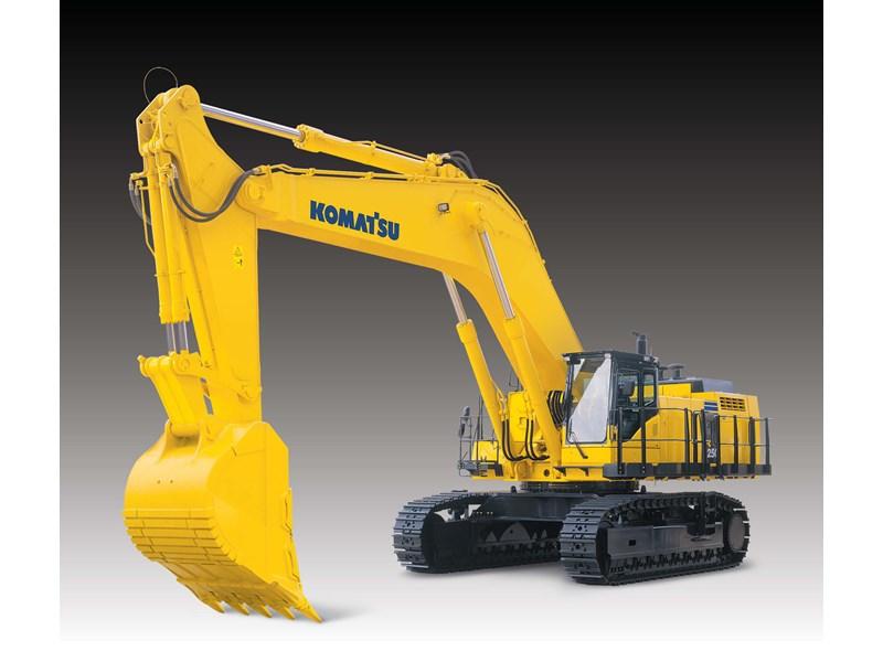 komatsu excavator pc1250 wwwimgkidcom the image kid