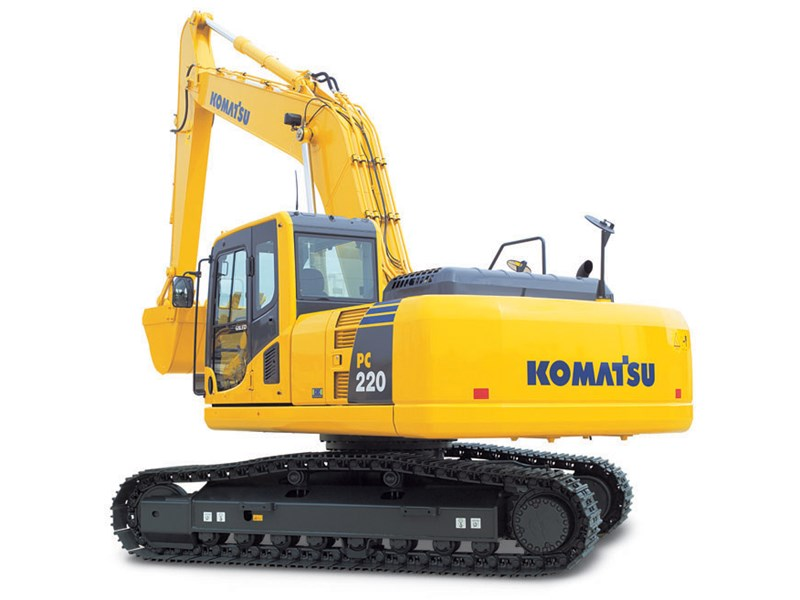 New Komatsu Pc220lc 8 Excavators For Sale