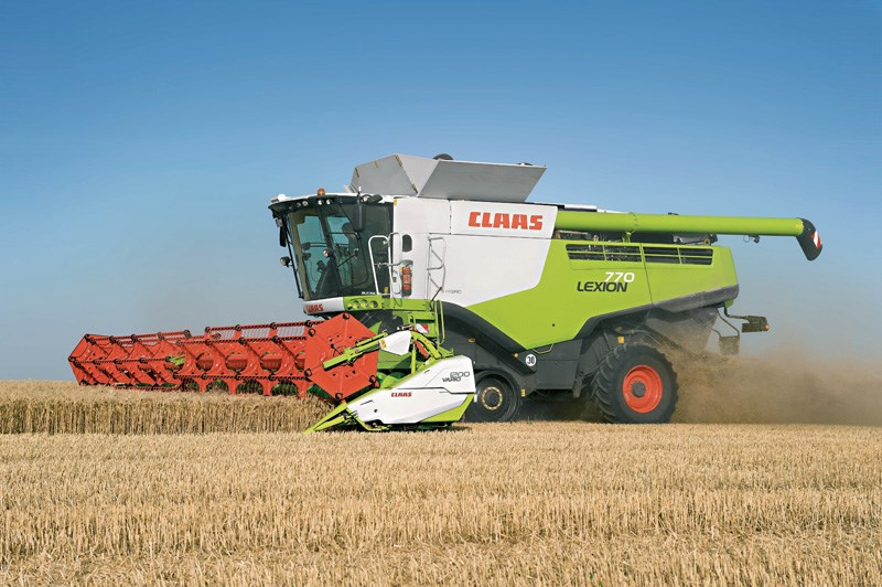 New Claas Lexion 770t Harvesting For Sale