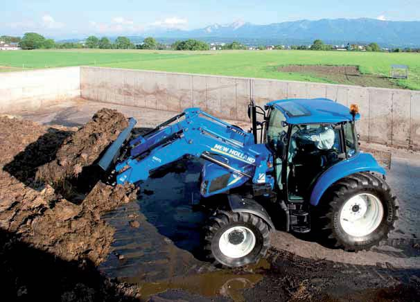 New New Holland T4 75 Ps 4wd Cab Tractors For Sale