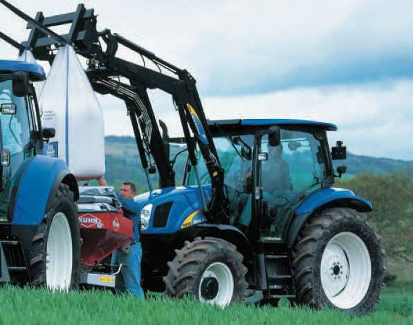New holland t6030 elite t6000 tractors specification