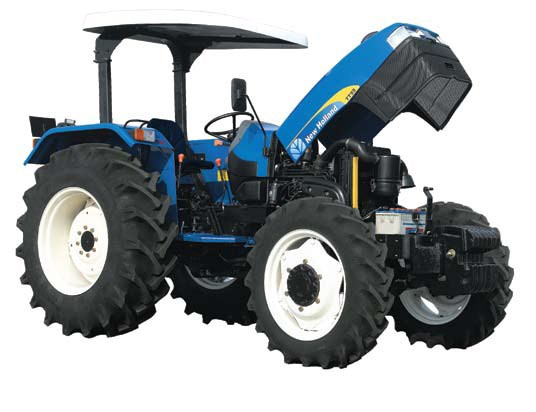 New holland tt75 4wd tractors specification