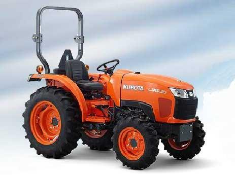 Kubota L3800 D Tractors Specification