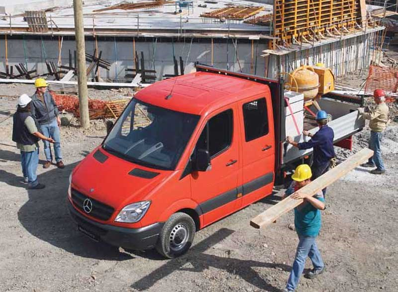 Mercedes benz sprinter 519 cdi lwb dual cab chassis trucks for Mercedes benz sprinter cab chassis