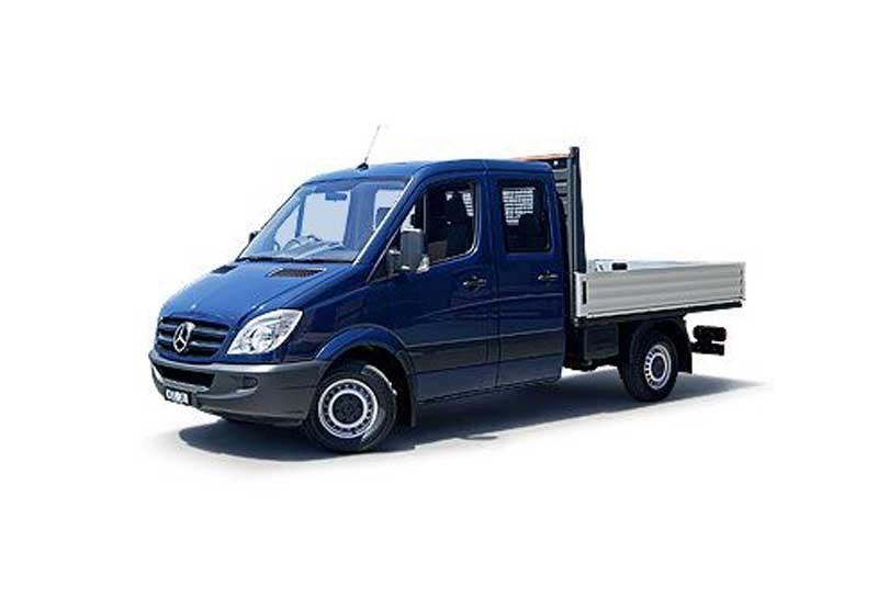 Mercedes benz sprinter 316 cdi mwb dual cab chassis trucks for Mercedes benz sprinter chassis