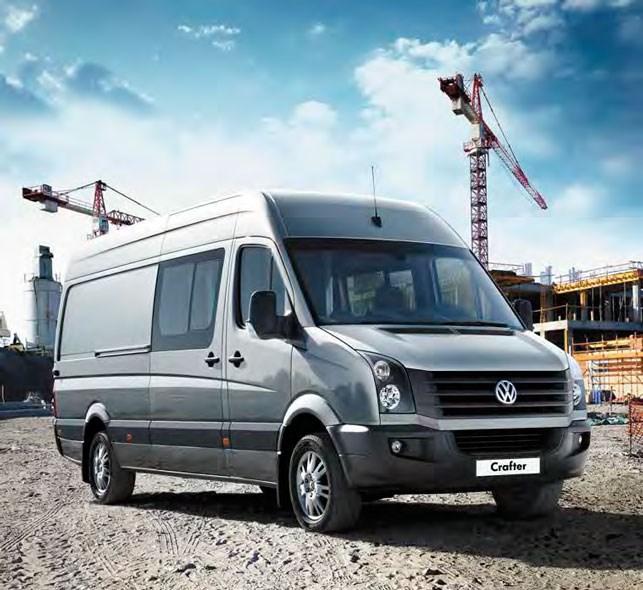 Volkswagen Crafter 50 Utility Van High Roof Trucks On