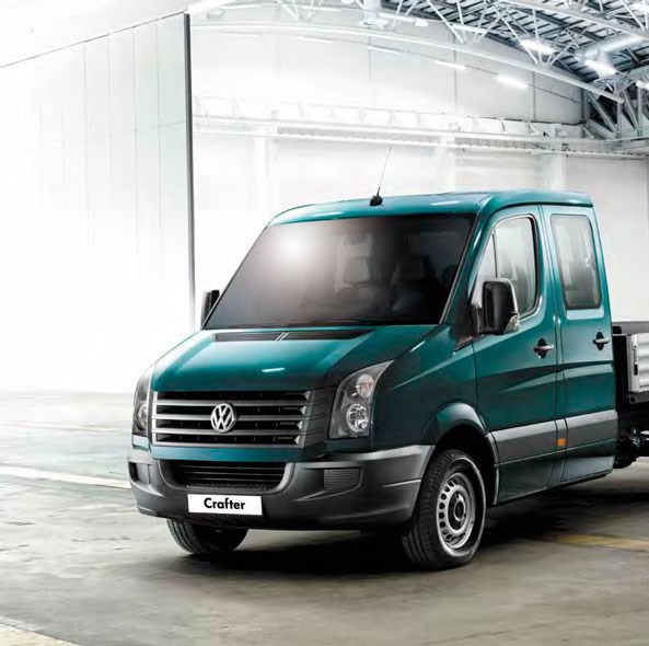 Volkswagen Crafter 50 Dual Cab Chassis Trucks On Road Trucks Gvm 5000kg Specification