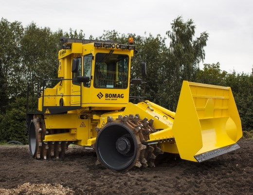 Landfill Compactor Maintenance : Bomag bc rb compaction compactors landfill specification