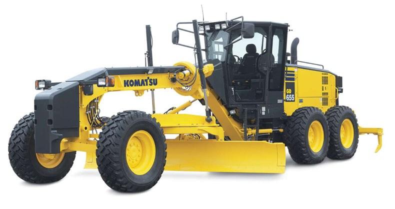 Komatsu Gd655 5 Graders Motor Graders Specification