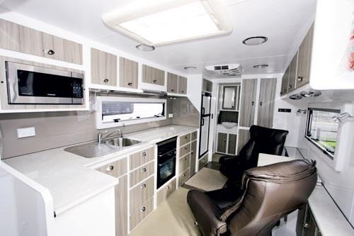 Excellent NAG004 New Age Manta Ray 16E Stylish Interior And Rear Bathroom