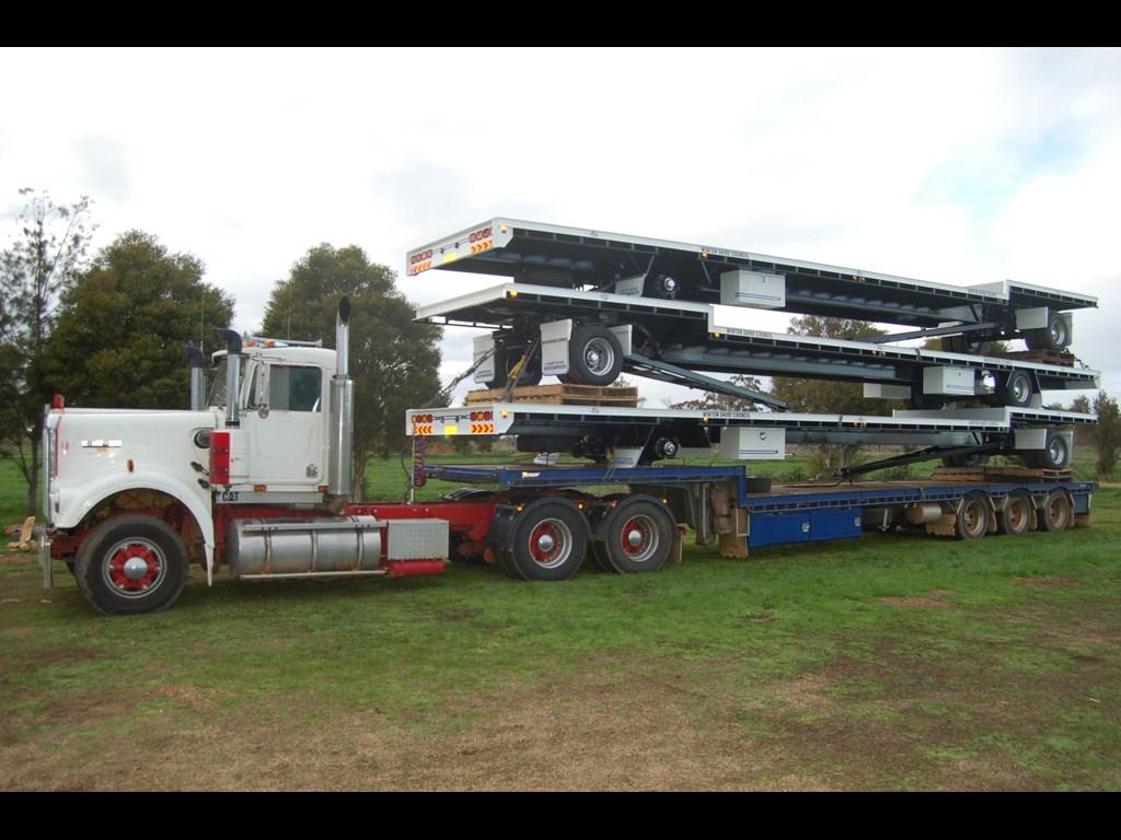 2014 north star transport equipment 2 axle dog trailer for. Black Bedroom Furniture Sets. Home Design Ideas