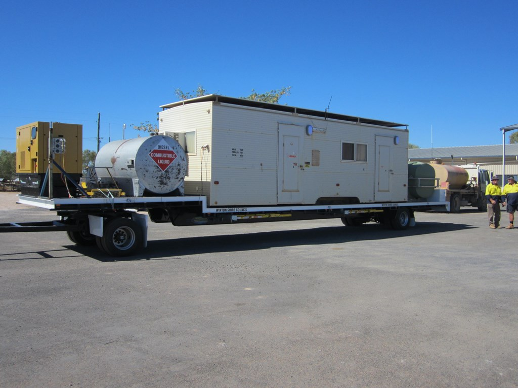 2014 northstar transport equipment 2 axle dog trailer for sale. Black Bedroom Furniture Sets. Home Design Ideas