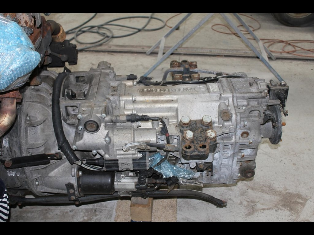 Mercedes benz actros g211 16 transmission for sale trade for Mercedes benz truck parts