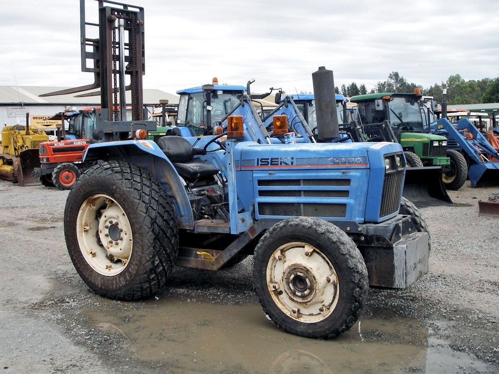 Iseki Bolens Tractor For Sale - More info