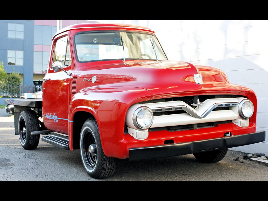 1955 Ford F100 Project Trucks For Sale 4