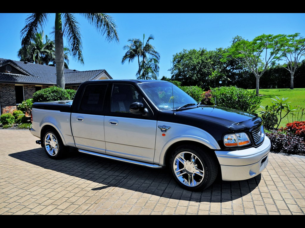 2003 ford f150 harley davidson 100th anniversary edition for sale autos weblog. Black Bedroom Furniture Sets. Home Design Ideas
